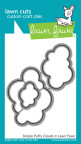 Lawn Fawn Custom Craft Die - Simple Puffy Clouds