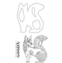 Kaisercraft Dies & Stamps - Fox UTGÅENDE