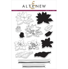 Altenew Layering Clear Stamps 6X8 43/Pkg - Lotus