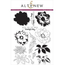 Altenew Layering Clear Stamps 6X8 43/Pkg - Beautiful Day