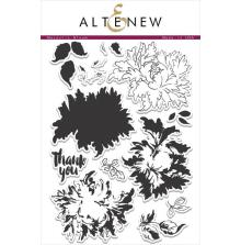 Altenew Layering Clear Stamps 6X8 12/Pkg - Majestic Bloom