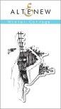 Altenew Clear Stamp 2X3 - Winter Cottage