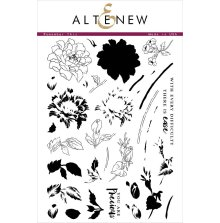 Altenew Layering Clear Stamps 6X8 - Remember This