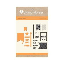 Diamond Press Stamp and Die Set - Happy Day For You UTGÅENDE