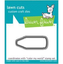Lawn Fawn Custom Craft Die - Color My World