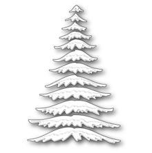 Memory Box Die - Marvelous Pine Snowy Branches
