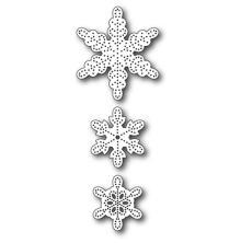 Memory Box Die - Pinpoint Snowflakes