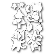 Memory Box Poppystamp Die - Purrfect Holidays