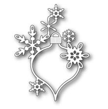Poppystamps Die - Lavinia Snowflake Ornament