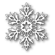 Memory Box Poppystamp Die - Laurette Snowflake