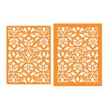 Tonic Studios Patterned Panels – Vibrant Damask 1330E