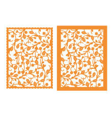 Tonic Studios Patterned Panels – Budding Vine 1334E