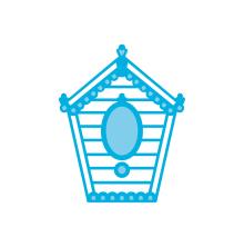 Tonic Studios Rococo Petite Die – Quaint Bird House 1292E