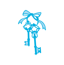Tonic Studios Rococo Petite Die – New Home Keys 1294E
