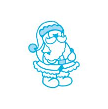 Tonic Studios Christmas Rococo Die – Jolly Santa 1375E