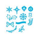 Tonic Studios Christmas Rococo Dies – Mini Wreath Decorations 1384E