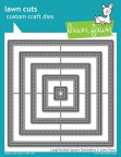 Lawn Fawn Custom Craft Die - Large Dotted Square Stackables