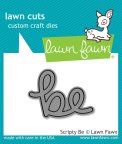 Lawn Fawn Custom Craft Die - Scripty Be