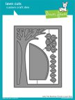Lawn Fawn Custom Craft Die - Leafy Tree Backdrop: Portrait