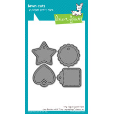 Lawn Fawn Custom Craft Die - Tiny Tags