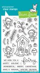 Lawn Fawn Clear Stamps 4X6 - Frosty Fairy Friends