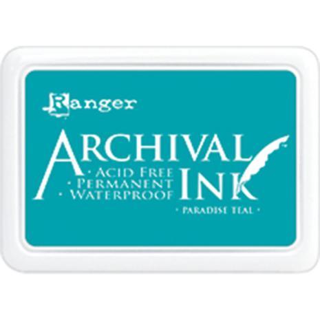 Ranger Ink Archival Inkpad - Paradise Teal