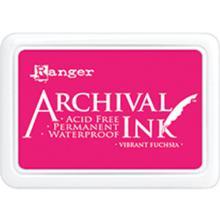 Ranger Archival Ink Pad - Vibrant Fuchsia