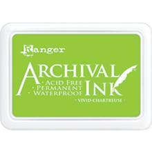 Ranger Archival Ink Pad - Vivid Chartreuse