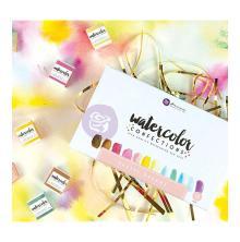 Prima Marketing Watercolor Confections Watercolor Pans 12/Pk - Pastell Dreams