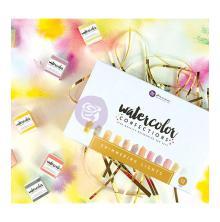 Prima Marketing Watercolor Confections Watercolor Pans 12/Pk - Shimmering Lights