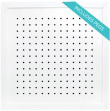 We R Memory Keepers Organization Gallery Shadow Box Frame - Pegboard