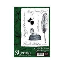 Sheena Douglass A Little Bit Festive Stamp - Christmas Note UTGÅENDE