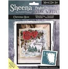 Sheena Douglass Scenic Winter Die - Christmas Rose UTGÅENDE