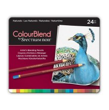 Crafters Companion Spectrum Noir ColourBlend Pencils - Naturals