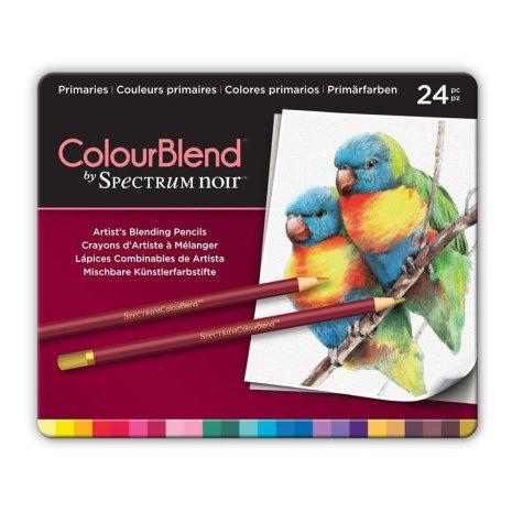 Crafters Companion Spectrum Noir ColourBlend Pencils - Primaries.