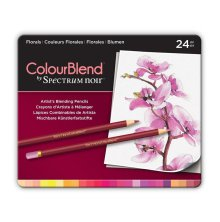 Crafters Companion Spectrum Noir ColourBlend Pencils - Florals