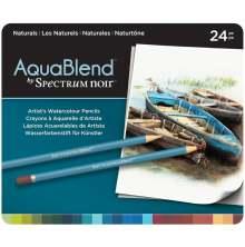 Crafters Companion Spectrum Noir AquaBlend Pencils - Naturals