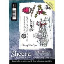 Sheena Douglass Scenic Winter Stamp A5 - Christmas Tidings UTGÅENDE