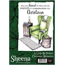 Sheena Douglass A Little Bit Festive Stamp A6 - Christmas Memories UTGÅENDE