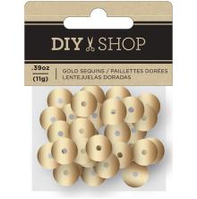 American Crafts DIY Shop 4 Sequins - Gold Foil UTGÅENDE