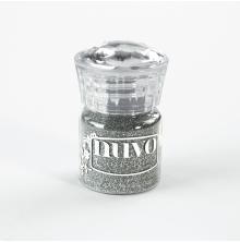 Tonic Studios Glitter Embossing Powder – Silver Moonlight 597N