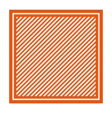 Tonic Studios Emobssing Folder 8X8 - Simple Stripes 1443E