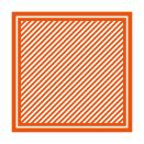 Tonic Studios Embossing Folder 8×8 – Simple Stripes 1443E