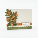 Tonic Studios Emobssing Folder 8X8 - Simple Stripes 1443E