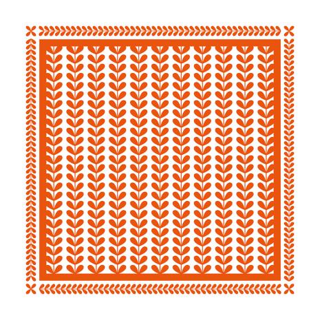 Tonic Studios Embossing Folder 8X8 - Layered Leaves 1442E