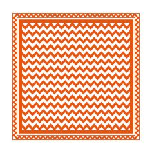Tonic Studios Emobossing Folder 8X8 - Modern Chevron 1440E