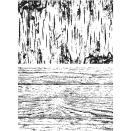 Tim Holtz Cling Stamps 7X8.5 - Birch & Pine