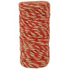 Kaisercraft Lucky Dip Jute Cord - Double-Colour Red UTGÅENDE