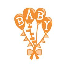 Tonic Studios Rococo Petite Die – Baby Balloons 1267E