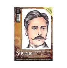 Sheena Douglass Time Traveller Stamp A6 - Steampunk Man UTGÅENDE